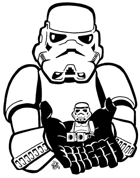 stormtrooper coloring pages www imgkid com the image