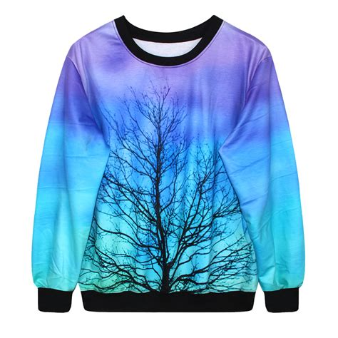 tree sweater harajuku tree sweatshirt sweaters 183 kawaii