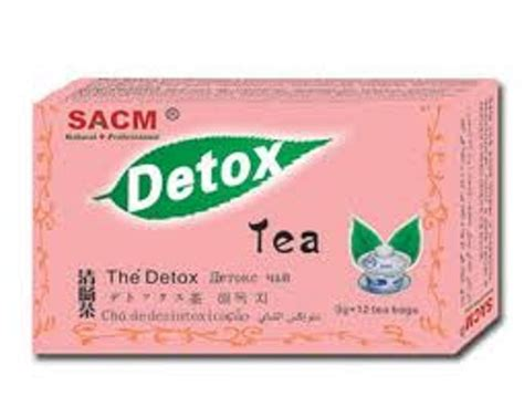 Detox Tea Scam by Homeopathic Remedies Sacm Detox Tea 3gr X 12