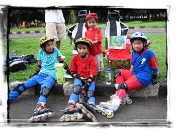 Sepatu Roda Junior sepatu roda