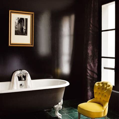 black painted bathroom 71 cool black and white bathroom design ideas digsdigs