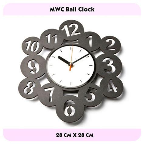 Jam Dinding Abjad Kode Vc15470 modern wall clock mwc garsale27 shop