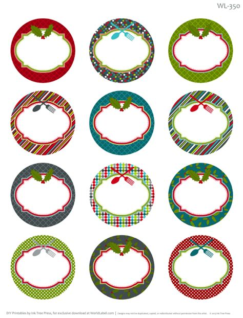 printable round gift tags templates dog breeds picture