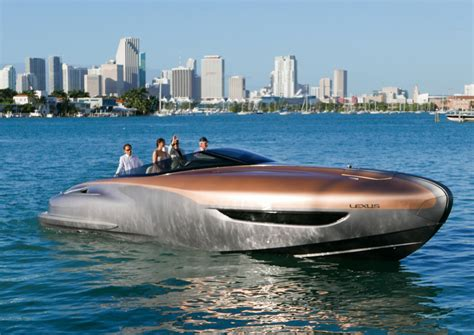 lexus boat lexus sport yacht concept the awesomer