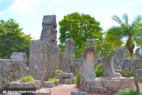 rock garden in florida ed leedskalnin s coral castle rock garden