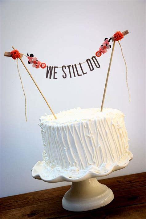 Wedding Cake Banner by Best 25 Cake Banner Ideas On Diy Cake Bunting