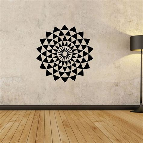 geometric wall stickers geometric wall decals creative vinyl adhesive stickers
