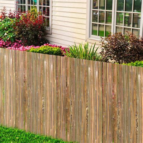 recinzione giardino economica recinzione bamboo soluzione economica per il giardino