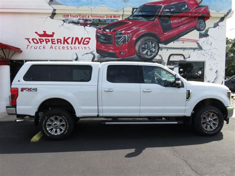 white ford  super duty leer xr topperking topperking providing   tampa