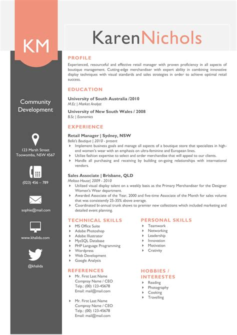 beautiful resume format for marketing profile beautiful word resume template pack resume templates on creative market