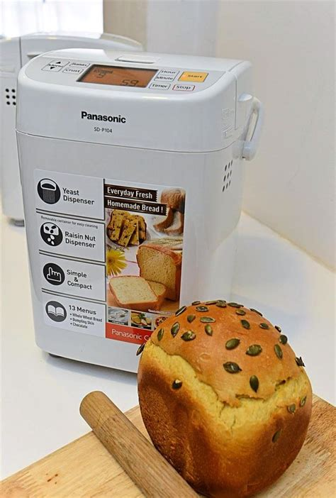 Jual Panasonic Bread Maker Sd P104 Pembuat Roti Bee | jual panasonic bread maker sd p104 pembuat roti bee