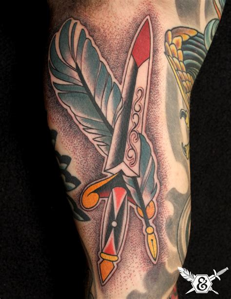 pure ink tattoo 17 best images about dagger tattoos on