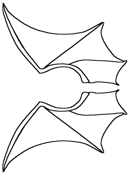 bat template wings www pixshark com images galleries