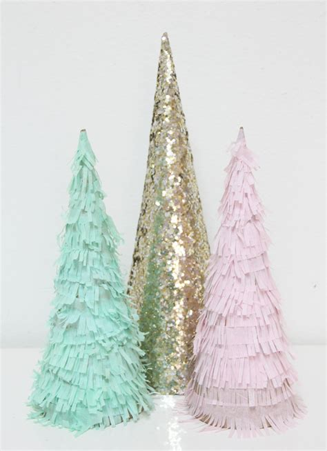 cone tree 45 cute cone shaped christmas trees shelterness