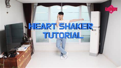 dance tutorial ugly heart 트와이스 heart shaker 안무 배우기 거울모드 twice heart shaker dance