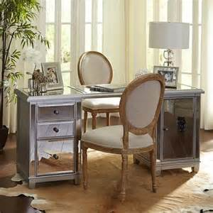 build your own hayworth mirrored desk collection pier 1