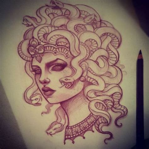 medusa tattoo design