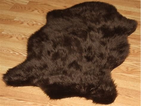Faux Animal Fur Rugs faux animal fur rug colors 24 quot x 48
