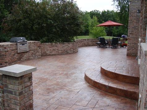 20 stunning cement patio ideas