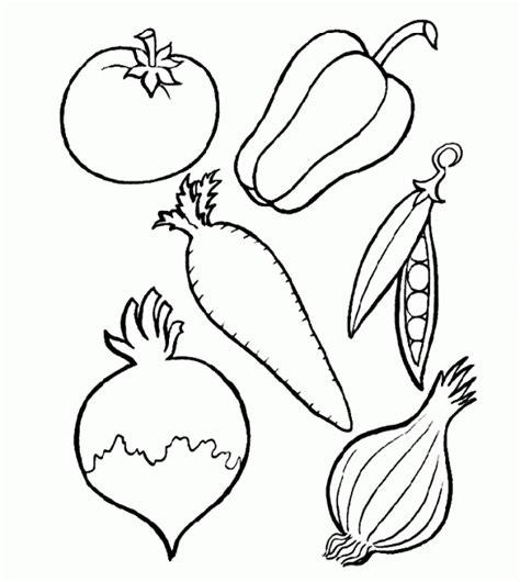 Imagenes Para Pintar Verduras | dibujos de vegetales para imprimir y colorear verduras y