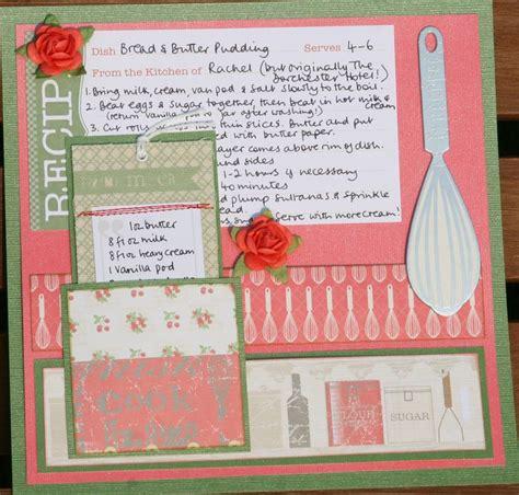 scrapbook layout idea books 943 best recipe scrapbook images on pinterest recipe