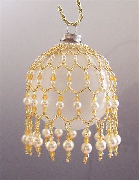 pattern beaded christmas ornaments adoree gold and pearl ornament jpg 787 215 1 019 pixels