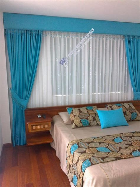cortinas modernas  sala  barra de acero inoxidable