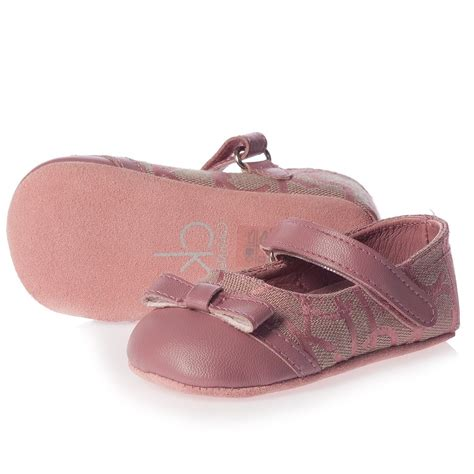calvin klein baby pink pre walker shoes children boutique