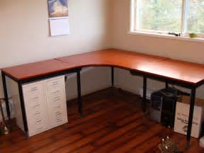 Build Office Desk Pottery Barn Inspired Desk Transformation Ikea Hackers Ikea Hackers