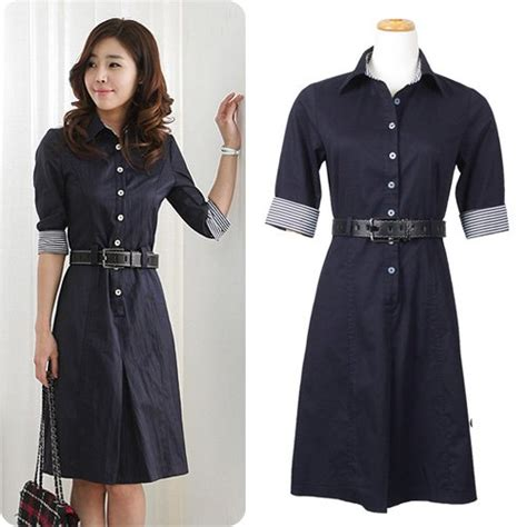 Dress Kemeja Kasual Wanita Vdd 03 grosir baju import murah tanah abang pusat grosir baju