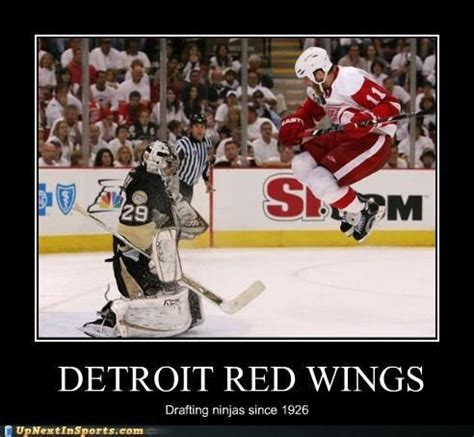 Red Wings Meme - funny hockey jokes red wings and funny pictures