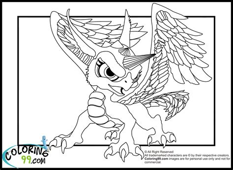 skylanders dragons coloring pages skylanders dragons coloring pages minister coloring