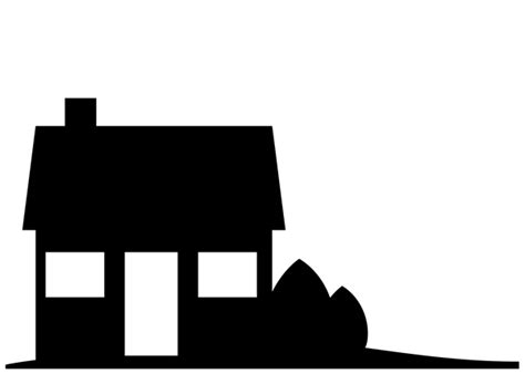 house silhouette modern house silhouette modern house