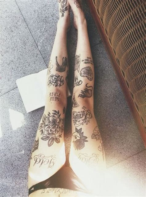 tattoo for girl leg 99 attractive sexy leg tattoo designs for girls