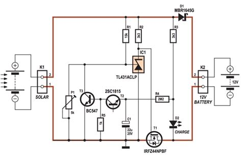 circuit diagram 4 s photovoltaic solar charge