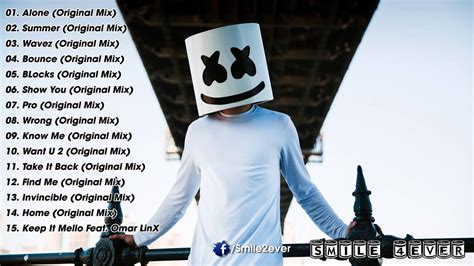 Best Songs by Marshmello Greatest Hits 2016 Best Songs Of Marshmello