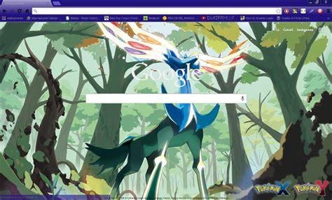 google images pokemon pokemon x y xerneas google chrome theme by hellfrenzy on