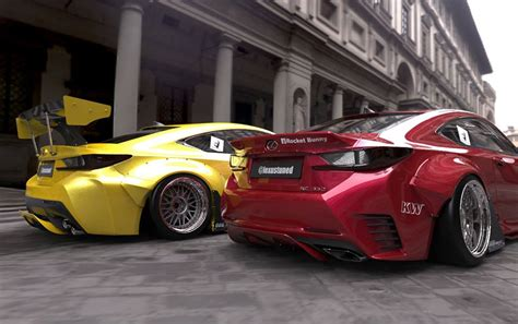 lexus rcf widebody rocket bunny lexus rc widebody is ready for phat c