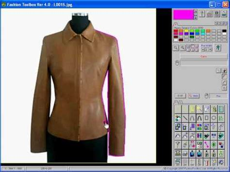 design free clothes online fashion toolbox how to trace a design from a photo youtube