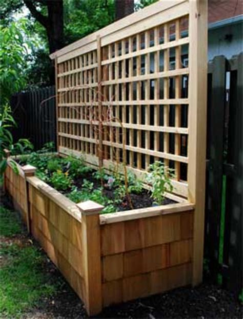 Small Trellis Planter by Landscapeonline Yard