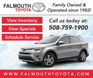 Falmouth Toyota Falmouth Toyota Toyota Service Center Dealership Ratings