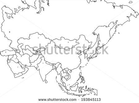 Blind Map Of Asia arab map stock photos images pictures