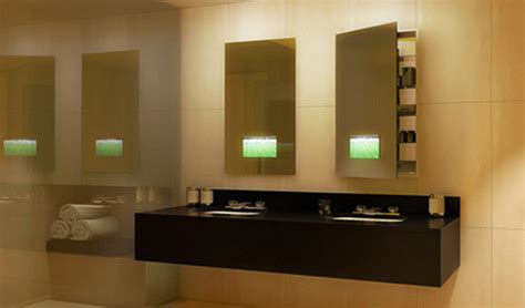 medicine cabinets recessed bathroom modern with accent lights clean seamless lighted recessed medicine cabinet by electric