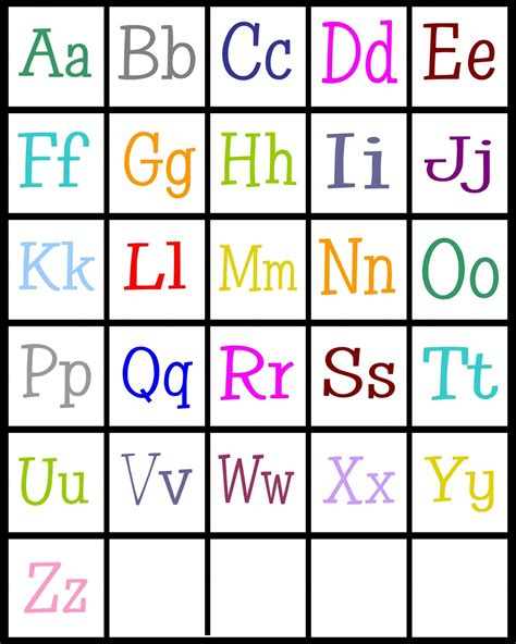 printable alphabet photo letters alphabet printable for preschool activity shelter