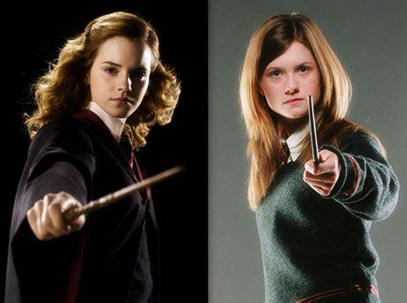 Ginny Weasley Hermione Granger by Hermione Y Ginny Grandes Modelos De Rol Femeninos En El