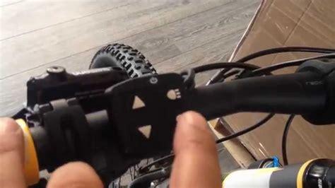 beleuchtung yamaha e bike yamaha haibike display how to set drive system e bike