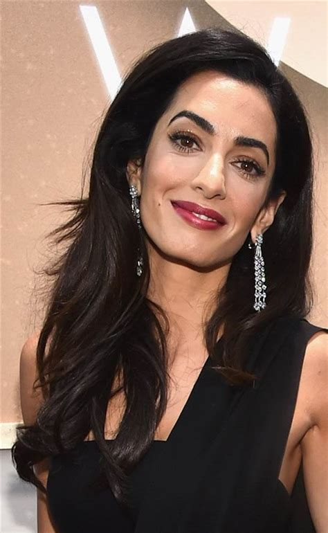 is amal clooney hair one length hot new hairstyles of 2015 and how to get the look