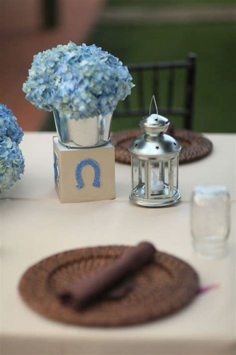 blue centerpieces for baby shower pin by williams on baby boy leister