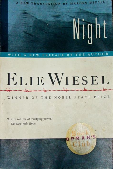 night by elie wiesel night by elie wiesel booknerd