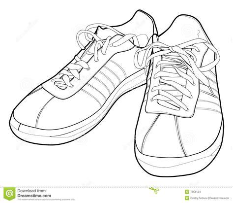 sport shoes stock vector illustration  soles vector